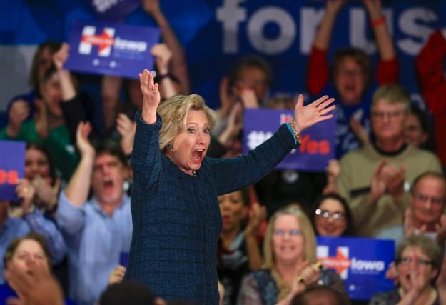 En date de mercredi, l'ancienne secrétaire d'État Hillary... (AP, Nati Harnik)