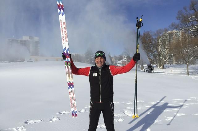 Un des organisateurs, Claude Laramée... (Courtoisie Ski Tour Canada 2016)
