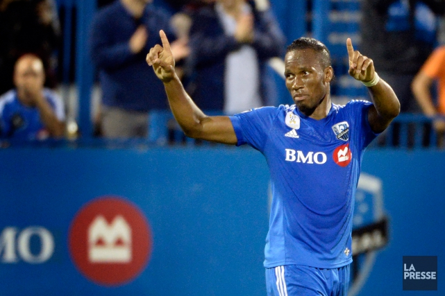 Didier Drogba... (Photo Bernard Brault, archives La Presse)