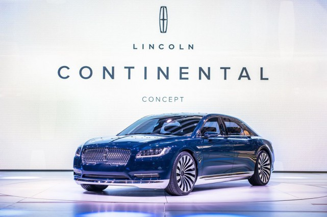 La version de production de la Lincoln Continental... (PHOTO FOURNIE PAR LINCOLN)