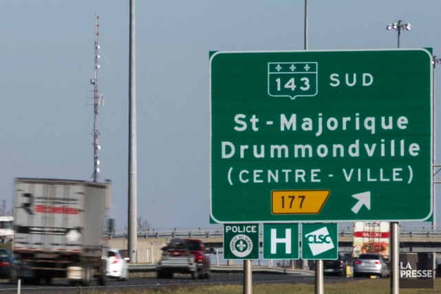 Quatre des quelque 70 réfugiés syriens attendus à Drummondville au cours de... (Archives La Presse)