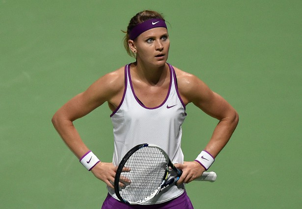 Lucie Safarova... (Photo archives AFP)