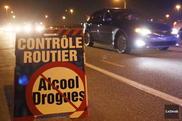 L'intervention concertée des corps policiers en matière d'alcool au volant... (Archives Le Droit)