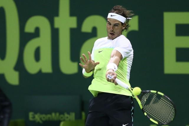 Rafael Nadal... (PHOTO KARIM JAAFAR, AFP)