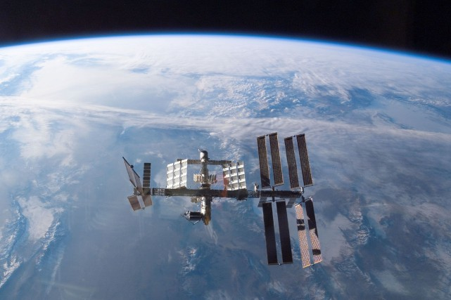 La Station spatiale internationale... (PHOTO ARCHIVES AFP/NASA)