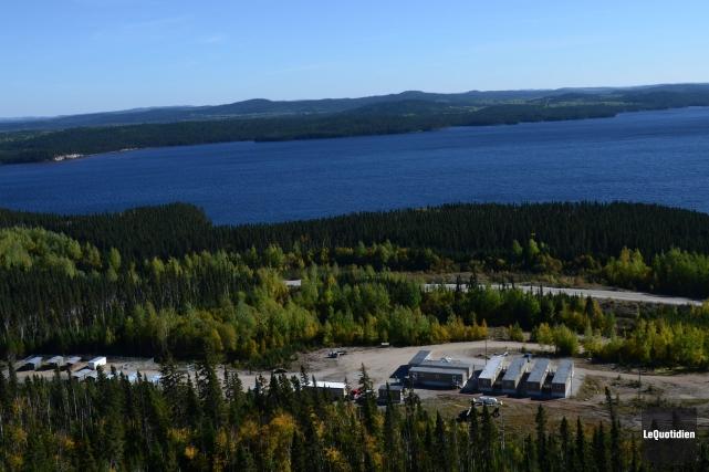 Québec a autorisé le projet de la mine... (Archives Le Quotidien)