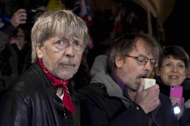 Le chanteur Renaud a pris part jeudi à... (Agence France-Presse)