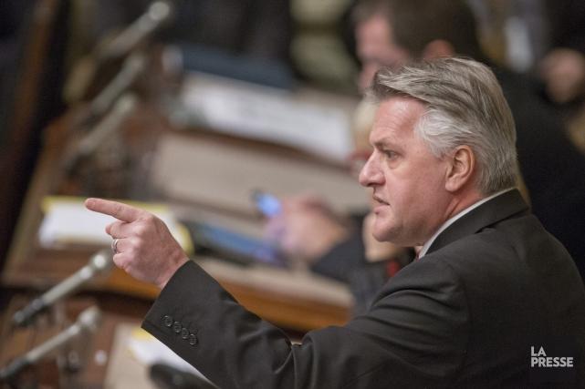 Le ministre québécois des Forêts, de la Faune... (Archives La Presse)