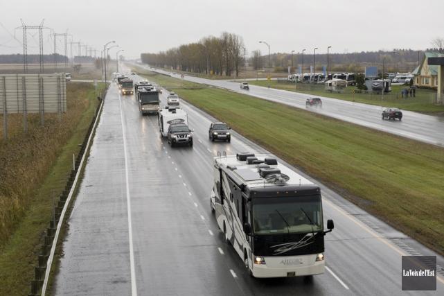Plusieurs camionnettes seront touchées par cette mesure, de... (Archives La Voix de l'Est)