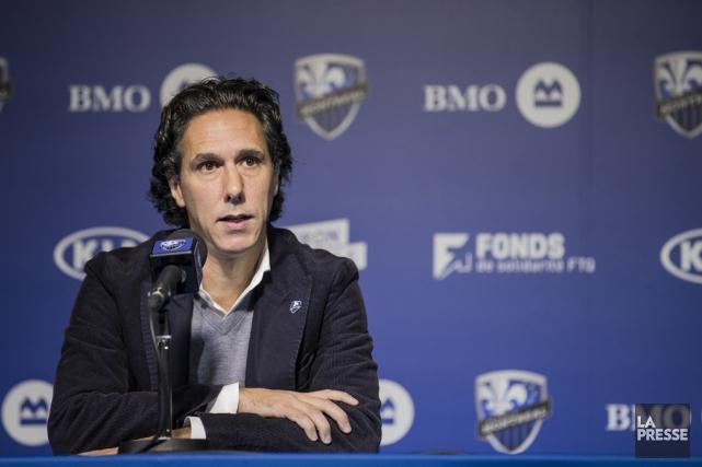 De nouveaux adjoints épauleront Mauro Biello derrière le... (Photo archives La Presse)