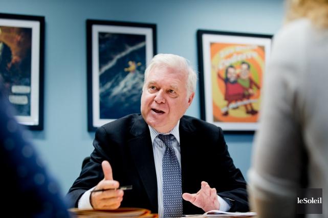Pierre Blain, président du Regroupement provincial des comités... (Photothèque Le Soleil)