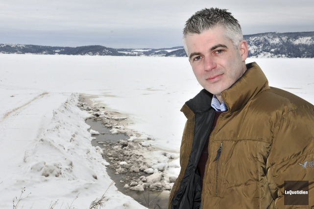 Le conseiller municipal Luc Boivin envisage un embarquement... (Photo Le Quotidien, Rocket Lavoie)