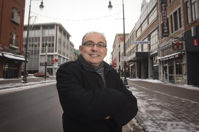 Yvon Boivin, ancien président de la CAVP et... (François Gervais)