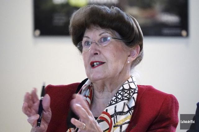 La mairesse de Bromont, Pauline Quinlan, affirme que... (Archives La Voix de l'Est)