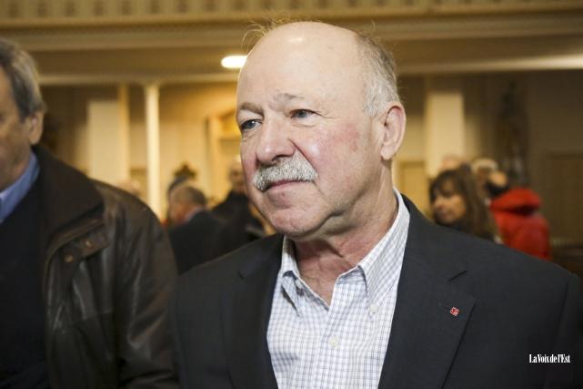 Le député fédéral libéral Denis Paradis.... (Archives La Voix de l'Est)