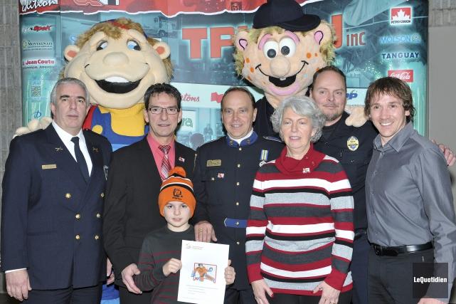 Les policiers de Saguenay seront encore très impliqués... (Photo Le Quotidien, Rocket Lavoie)