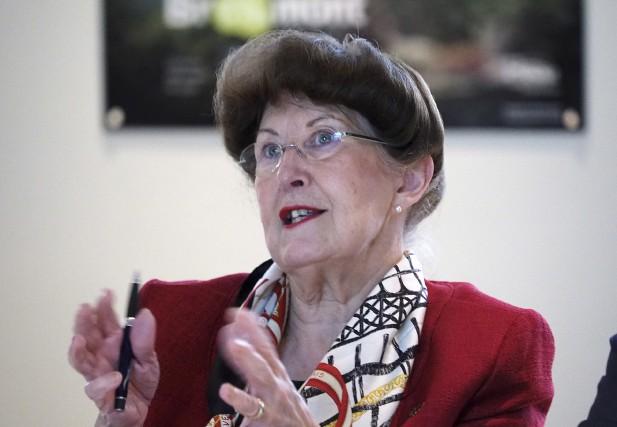 La mairesse de Bromont, Pauline Quinlan, affirme que... (photo d'archives)