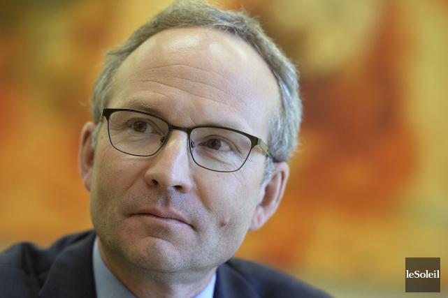Le président du Conseil du trésor, Martin Coiteux,... (PHOTO ARCHIVES, LE SOLEIL)