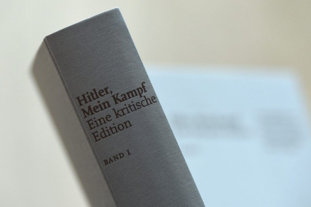 Pour la première fois depuis 1945 une réédition deMein Kampf a été... (PHOTO AFP)