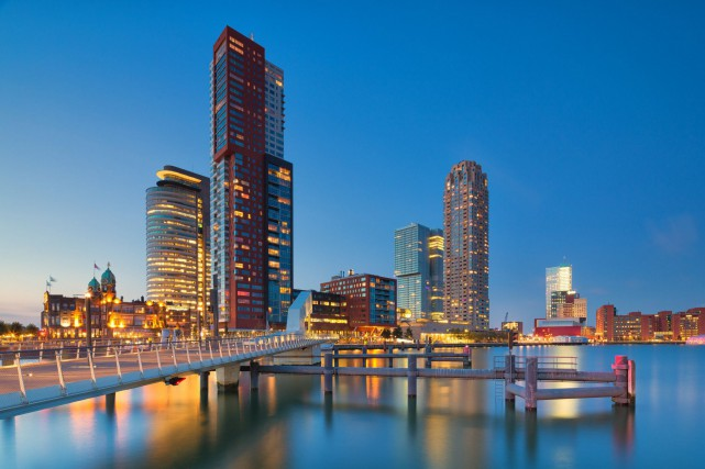 Vaste laboratoire architectural à ciel ouvert, Rotterdam est... (Photo Thinkstock)