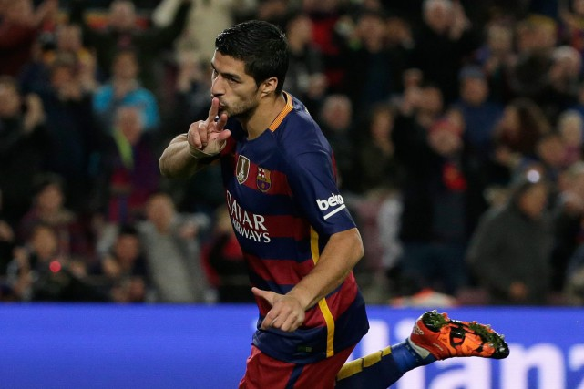 Luis Suarez... (PHOTO ARCHIVES AP)