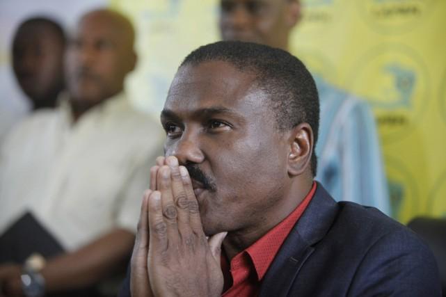 Le candidat de l'opposition Jude Célestin... (Photo Dieu Nalio Chery, AP)