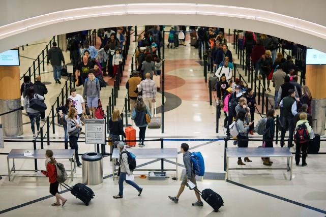 L'aéroport Hartsfield-Jacksond'Atlanta.... (Photo David Goldman, archives ASsociated Press)