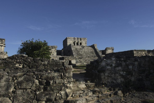 Le site maya de Tulum, au Mexique.... (PHOTO AP)