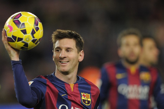 Lionel Messi... (PHOTO ARCHIVES AP)