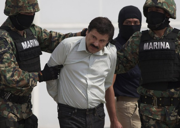 Joaquin «El Chapo» Guzman s'était évadé de la... (Photothèque Associated Press)