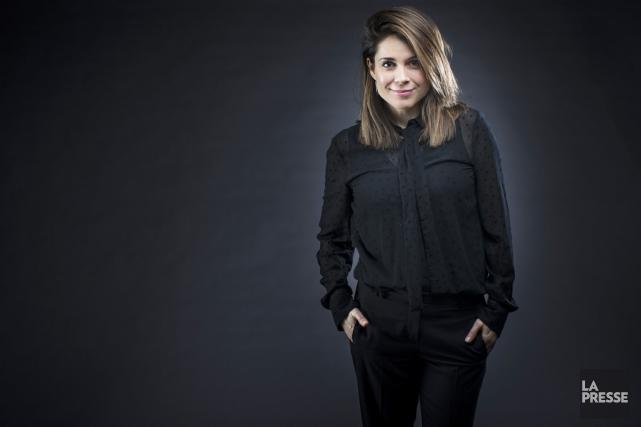 Julie Perreault multiplie les projets, tant à la télévision qu'au cinéma. Elle... (PHOTO OLIVIER PONTBRIAND, LA PRESSE)