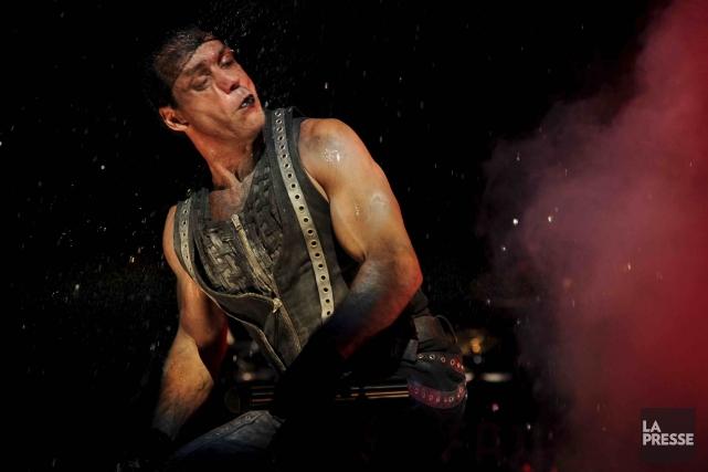 Le chanteur du Rammstein,Till Lindemann... (Archives La Presse)