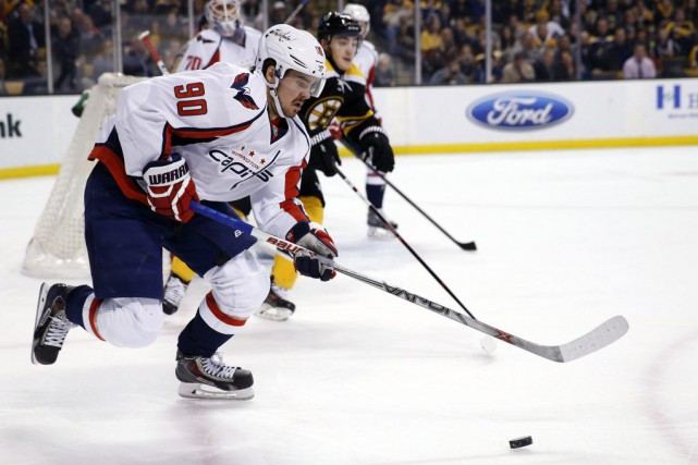 Marcus Johansson... (Photo Greg M. Cooper, USA TODAY Sports)