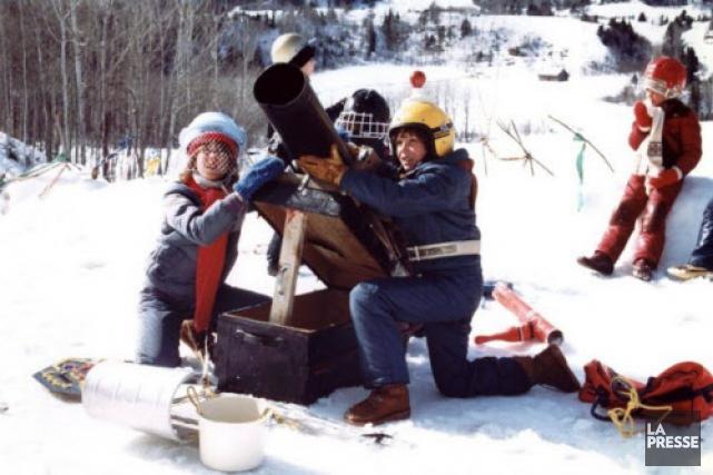 La Guerre des tuques, produit en 1984.... (Archives La Presse)