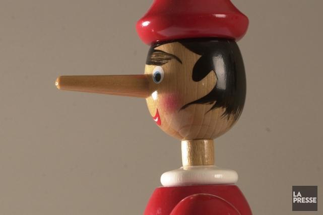 Pinocchio.... (Archives La Presse)