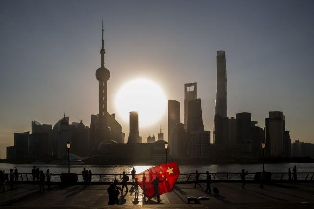 La Chine, le gros joueur des cinq puissances... (Bloomberg)