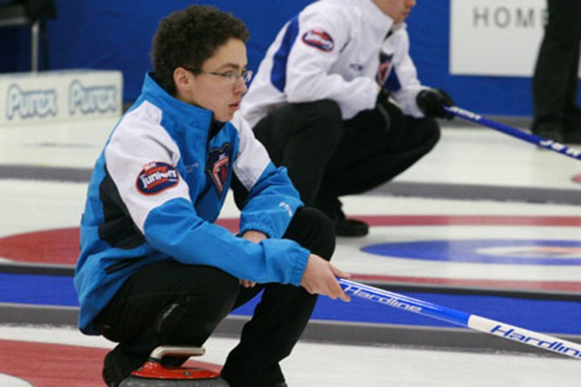 Félix Asselin... (Photo fournie par Curling Canada)