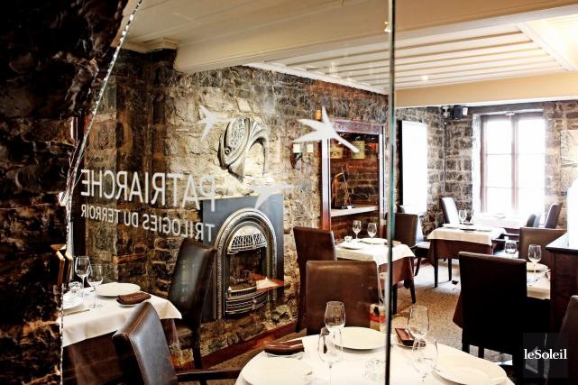 Un des restaurants les mieux cotés de Québec,... (Photothèque Le Soleil)