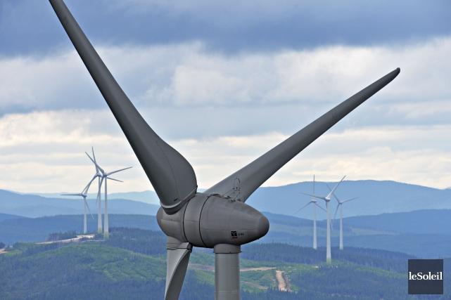 BILLET / Peut-on en finir avec le passage à tabac de l'industrie éolienne? Le... (Photothèque Le Soleil, Pascal Ratthé)