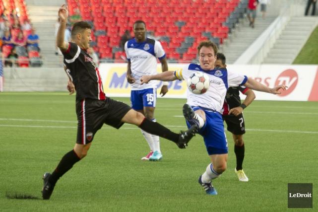 Le Fury FC d'Ottawa affrontera à nouveau le FC Edmonton en première ronde du... (Martin Roy, archives LeDroit)