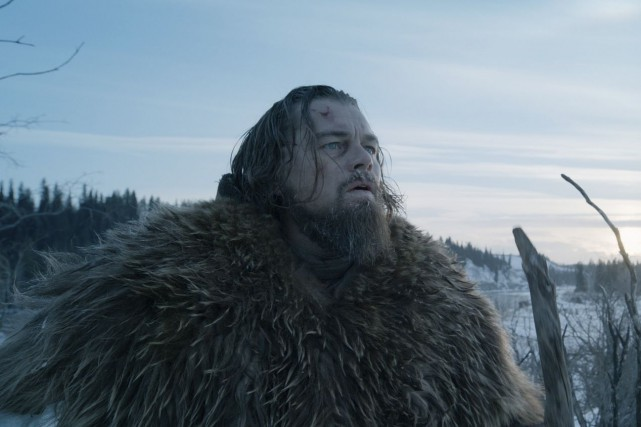 Leonardo DiCaprio dans une scène du film The... (PHOTO FOURNIE PAR 20TH CENTURY FOX)