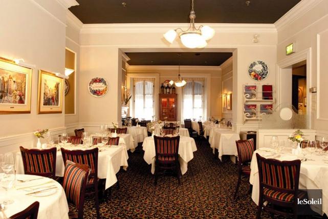 La fermeture imminente de restaurants haut de gamme... (Photothèque Le Soleil)