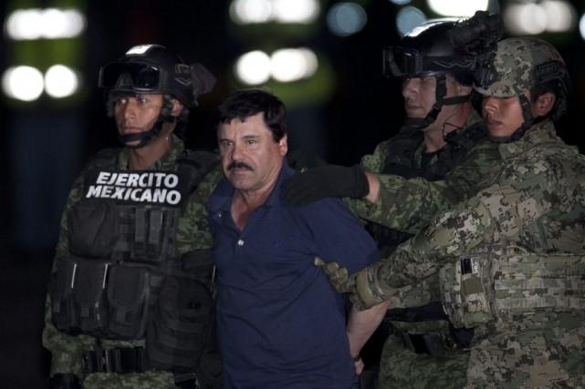 Joaquin «El Chapo» Guzman s'était évadé de prison... (Photo Marco Ugarte, AP)