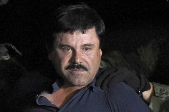 Après l'arrestation de Joaquin «El Chapo» Guzmanen février... (PHOTO ALFREDO ESTRELLA, AFP)