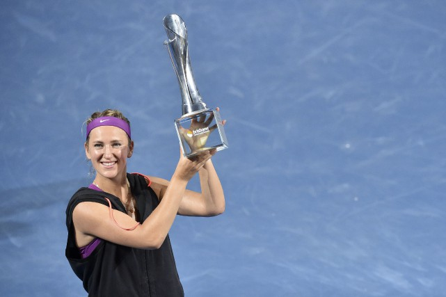 Victoria Azarenka... (Photo  Saeed KHAN, AFP)
