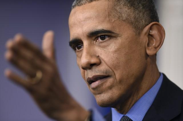 Barack Obama a annoncé samedi qu'il se rendrait au Salon de l'auto de Detroit,... (PHOTO ARCHIVES AP)