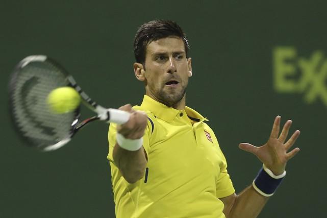 Le Serbe Novak Dkokovic a été expéditif en... (AFP, Karim Jaafar)