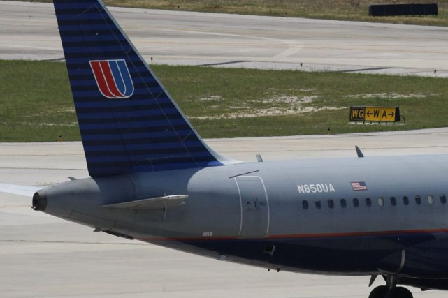 Le vol d'United Airlines, qui assurait la liaison... (Archives AP)