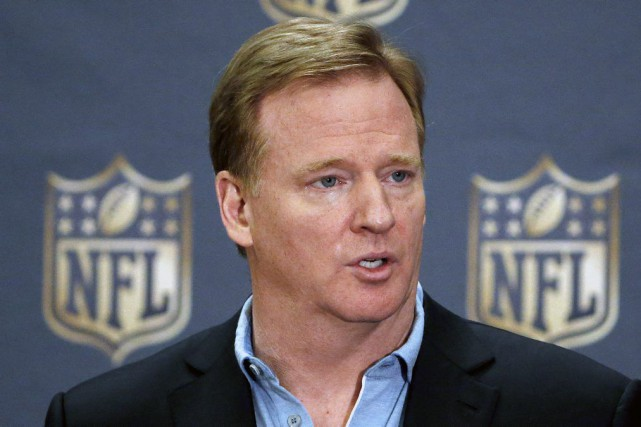 Le commissaire de la NFL, Roger Goodell.... (Photo Ross D. Franklin, archives AP)