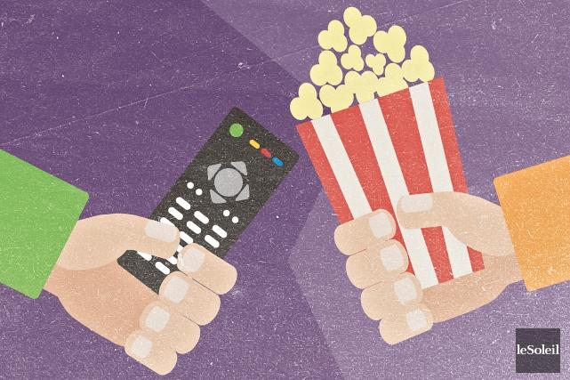 Les fêtes sont terminées. Sur vos écrans, vos émissions préférées reprennent... (Infographie Le Soleil)